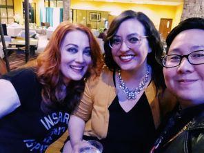 Hudsy Hawn, me & Kristel Penn